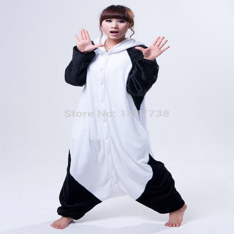 Kigurumi Panda Pajamas Animal Onesies Romper Sleepwear Jumpsuit - საკარნავალო კოსტიუმები - ფოტო 2