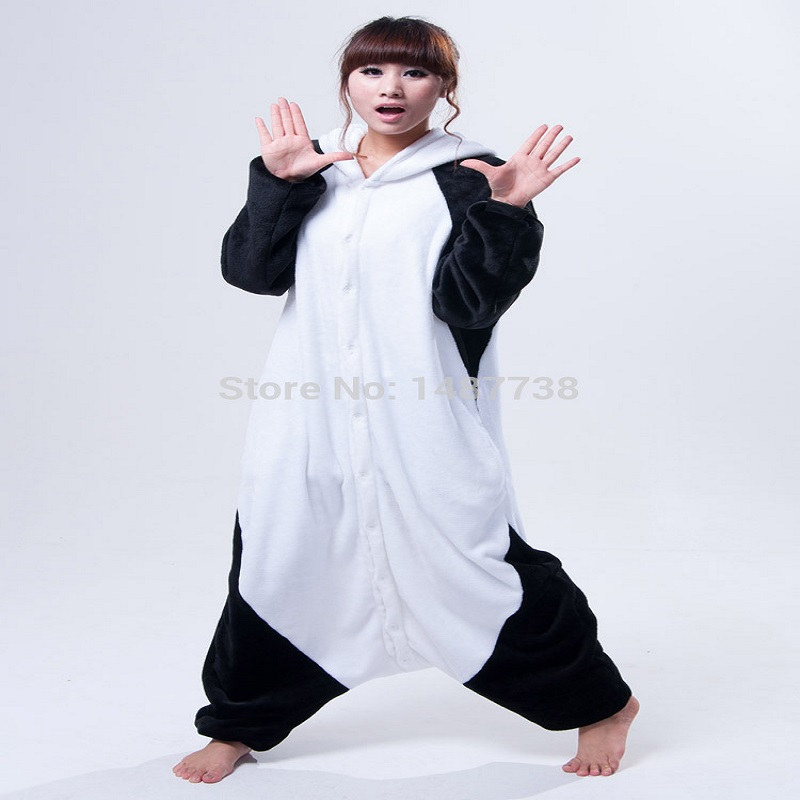 Kigurumi Panda Pijamas Animal Onesies Romper Ropa de dormir Mono - Disfraces - foto 2