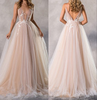 Sexy Long Evening Dresses For Wedding Tulle Backless 2019 New Women Formal Party Gowns cheap Vestido De Festa