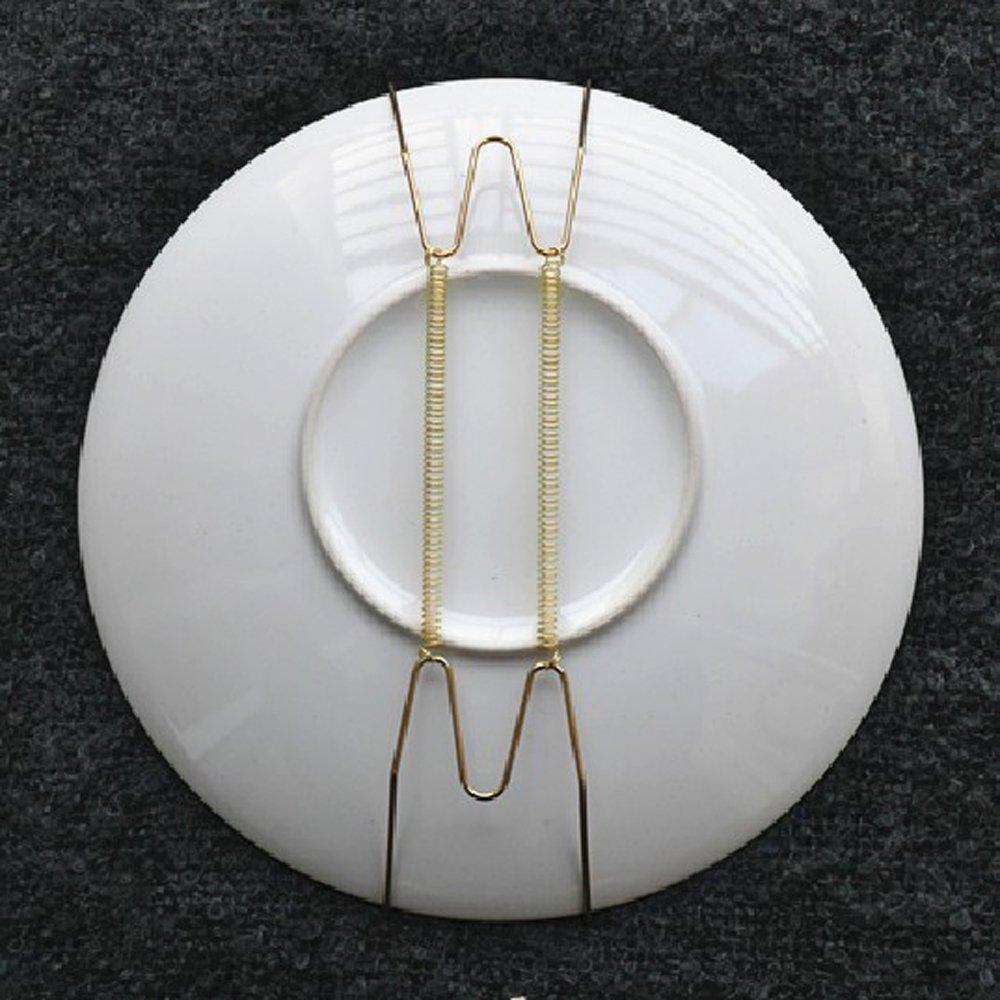UESH-10 pcs 8-inch plate holder plate hanger plate pallets wall & 10 pcs. 8 inch plate holder plate hanger plate pallets wall hanger ...