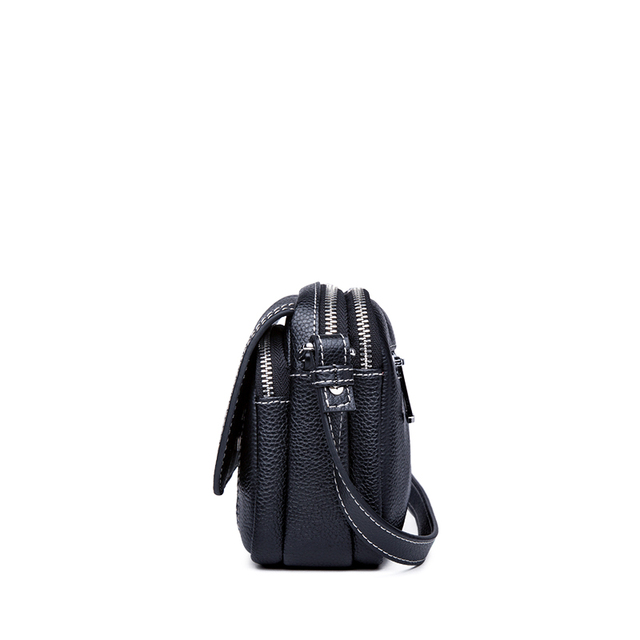 ZOOLER Luxury Brand Designer Genuine Leather Bags for women 2020 Leather purses Crossbody bags Black Shoulder Bags bolsos mujer