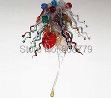 Special Shape Mini Murano Blown Glass Chandelier in The Kitchen