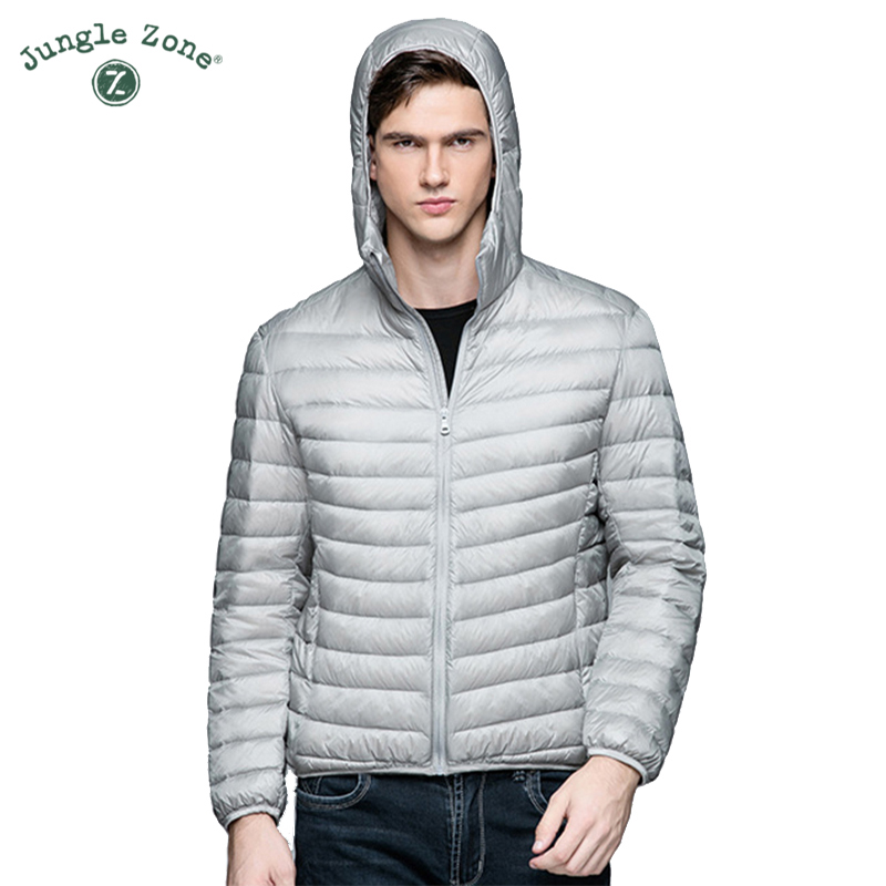 Winter Casual Brand White Duck Down Jacket Men Autumn Winter Warm Coat Men