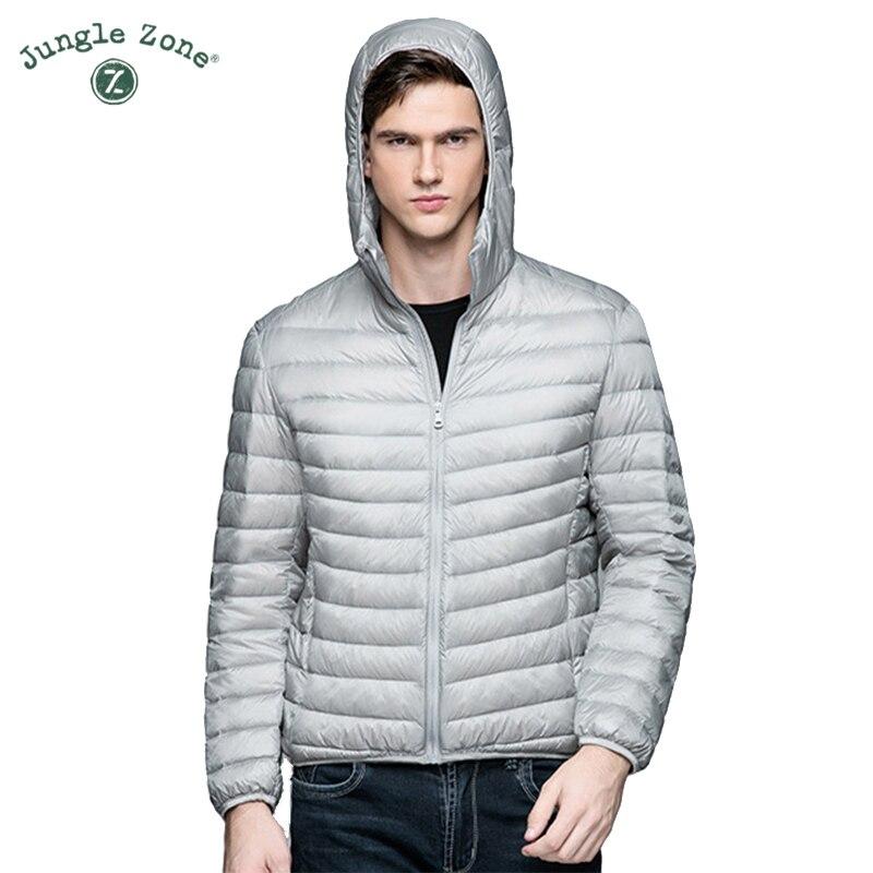 Winter Casual Brand <font><b>White</b></font> Duck Down Jacket Men Autumn Winter Warm Coat Men