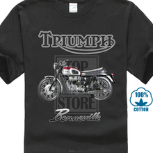 Classic Triumph 1963 Bonneville T120 Unit Engine Cotton T Shirt