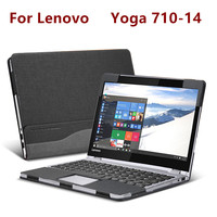 Creative Design Laptop Cover For 13 3 Inch Lenovo Ideapad 710S Sleeve Case PU Leather Protective