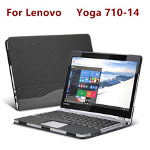 Computer Office - Laptop Accessories - Creative Design Laptop Cover For 13.3 Inch Lenovo Ideapad 710S Sleeve Case PU Leather Protective Skin Stylus As Gifts