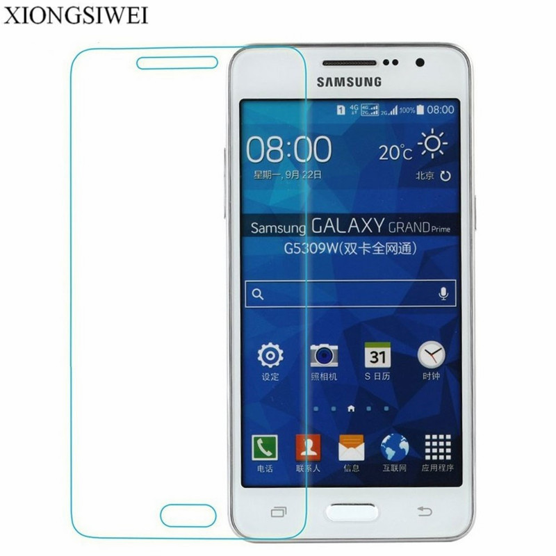 98cd399d254 2 pcs Screen Protector For Samsung Galaxy Grand Prime VE SM-G531H SM-G531F  SM-G530F