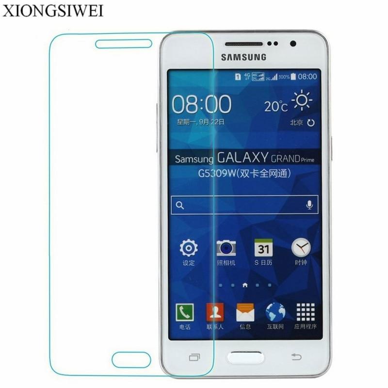79eab1c71d0 2 pcs Screen Protector For Samsung Galaxy Grand Prime VE SM-G531H SM-G531F  SM-G530F
