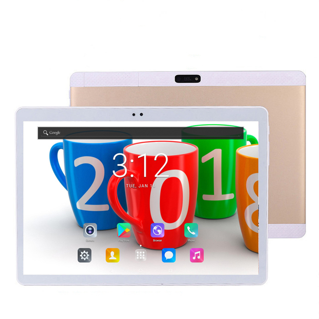 DHL Free Shipping Android 7.0 10 inch tablet pc 4G Unlock 4GB RAM 64GB ROM 10 Cores 1920*1200 IPS Kids Gift MID Tablets 10.1 10