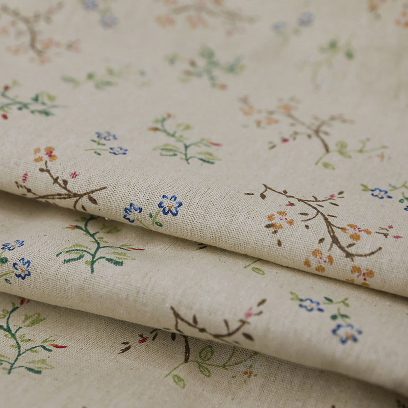 Image 5 - Modern Countryside Small Flower Printed Blackout Curtain For Livingroom Bedroom Window Treatment Drapes Solid Home Decoration-in Curtains from Home & Garden