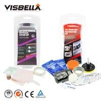 Visbella DIY Rear Window Defogger Repair Kits Fix Auto Glass Mist Broken Grid And Headlamp Restoration