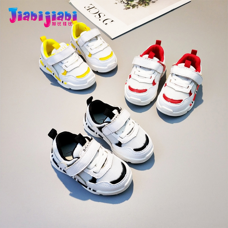 0-2T New Autumn Baby Boy Girl Shoes Infant Moccasins Prewalker Soft Bottom Anti Slip Toddler Shoes Genuine Leather Sneaker 0303