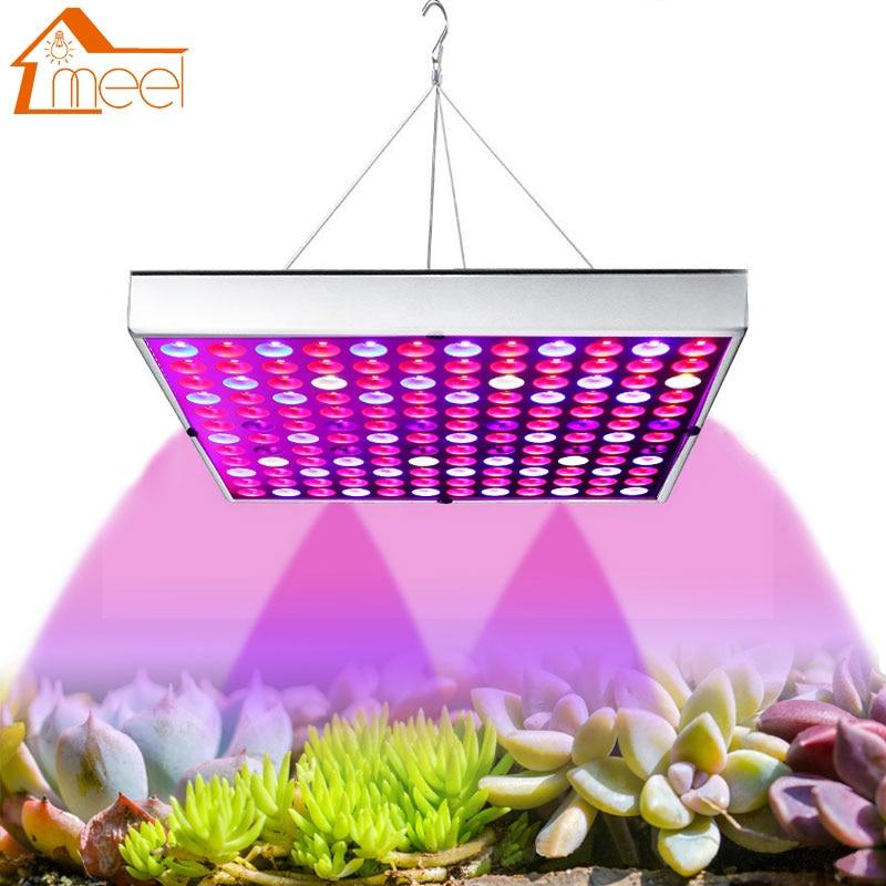 Growing Lamp 25W 45W 85-265V LED Grow Panel Light Full Spectrum Plant Lighting 75leds 144leds For Plants Seedling Cultivation