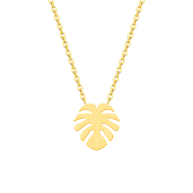 Tattoo Choker Hawaiian Palm Tree Necklace Pendant Collier Femme Stainless Steel Chain Island Coconut Tree Necklace For Women