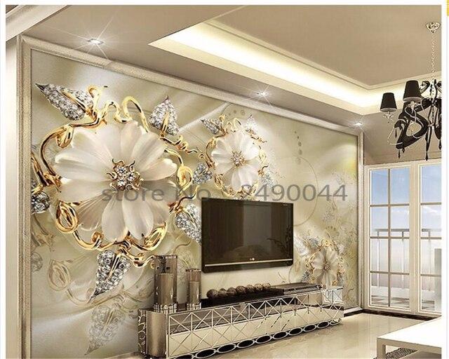 Luxus schmuck kaufen  Aliexpress.com : Beibehang 3D Tapete Luxus Schmuck Seide Tapete ...