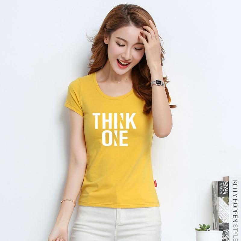 T Shirt Women New t-shirts women 2018 vogue Vintage tshirts cotton women O Neck Short Sleeve 531