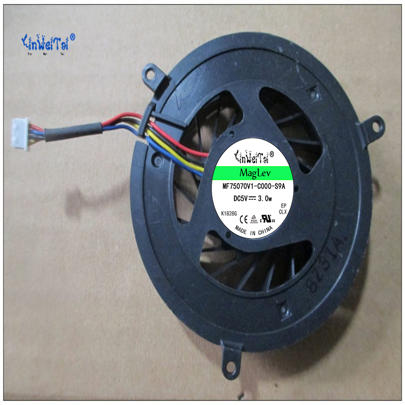 Free shipping DC 5V 0.35A Cooling Fan For <font><b>DELL</b></font> 1735 1536 1737 <font><b>1435</b></font> 0R512D DQ5D566F500:3A CPU Cooling Fan MCF-C22CM05 image