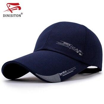 DINISITON 2019 nuevo Unisex verano hombre gorra de béisbol hombres mujeres gorra de secado rápido hueso macho escalada correr deportes sombreros CLP
