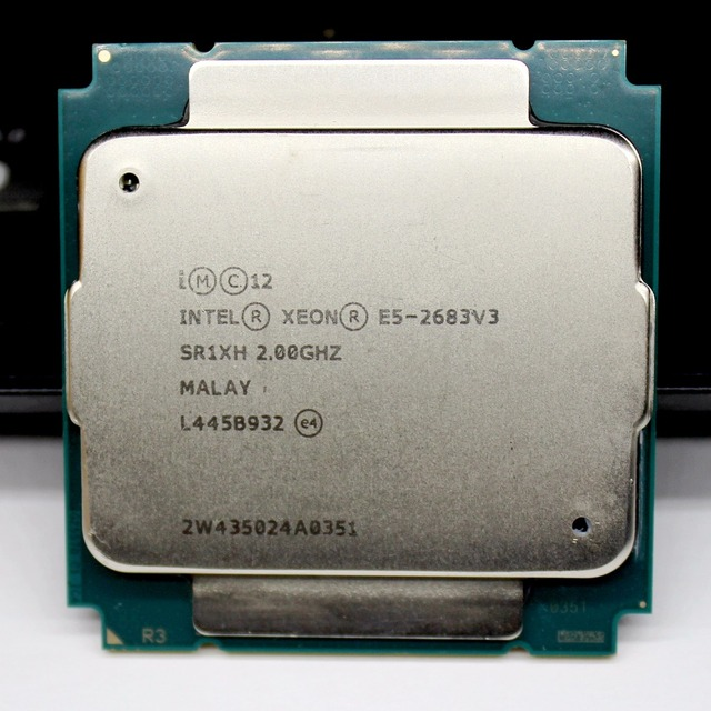 E5 2683 V3 PROCESSOR 2683V3 Xeon E5-2683v3 CPU 2.00GHz 14-Core DDR4-2133 FCLGA2011-3 TPD 120W Xeon e5 v3 1 year warranty