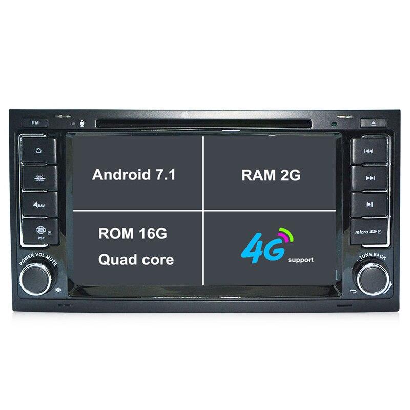 2G RAM Android 7 1 font b Car b font radio DVD Player font b GPS
