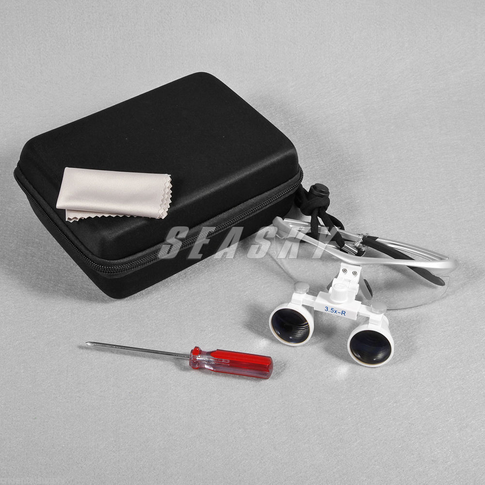 dental lab 3.5X 420mm Dental Surgical Binocular Loupes Optical Glasses Magnifier 4 Colors блуза sela sela se001ewuro44