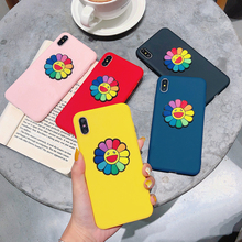 цена на For iphone 7 XS MAX Case Soft Silica gel Back Cover Cartoon cute 3D Case on  For iphone6 6S 8Plus iphone XR Case Cover Phone cas