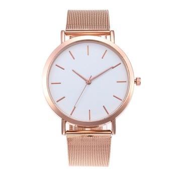 Women Watches Bayan Kol Saati Fashion Rose Gold Silver Luxury Ladies Watch For Women reloj mujer saat relogio zegarek damski