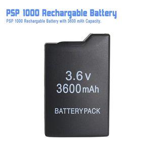 Игровые аксессуары для PSP, аккумуляторная батарея (емкость 3600 мАч), батарея для PSP 1000, все версии