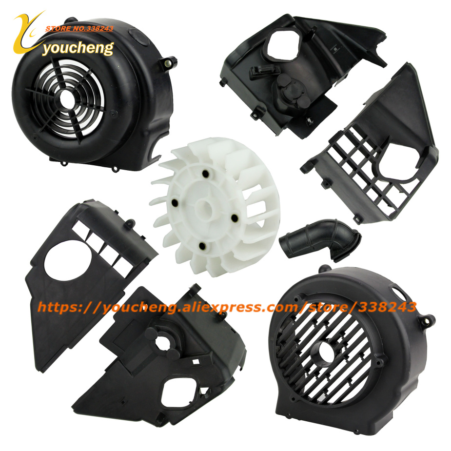 GY6125 150 Scooter Fan Cover Plastic Protect Parts Modify Replacement Engine Spare Parts Accessory Wholesale Dropshipping