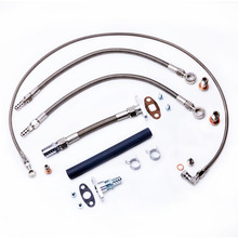 Kinugawa Turbo Oil and Water Line Kit for TOYOTA Supra 7M-GTE w/ for Garrett T04Z Ball Bearing