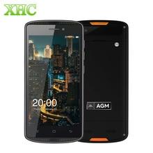 Original AGM X1 mini 2 GB + 16 GB IP68 Teléfono Móvil 4000 mAh Impermeable de 5.0 pulgadas Android 6.0 Dual SIM 4G LTE 1280×720 Teléfono Inteligente