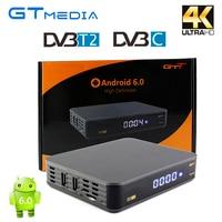 Android TV Box GTT DVB T2 DVB C Smart TV Box Amlogic S905D 1GB 8GB ROM