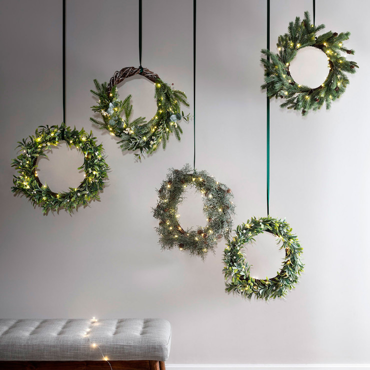 C50-YWG_Micro-Lights-Green-Wire-Hanging-Christmas-Wreaths_P4