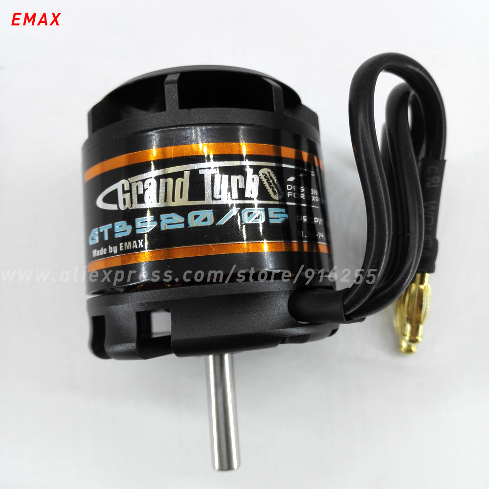 EMAX rc brushless outrunner motor 1150kv airplane GT series 5mm shaft 3-5s for aircraft electric vehicle parts free ship airplane rc model 2830 kv1000 outrunner brushless motor for 1700mm whisper wind