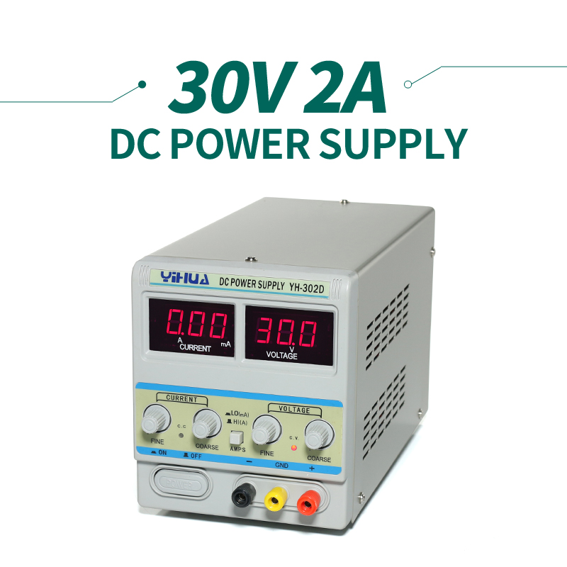ФОТО 110v / 220v Dc Regulated Power Supply For Soldering Station YIHUA 302D