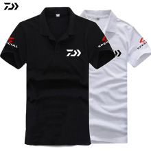 DAIWA 2018 Summer time Speicial Fishing T Shirt Breathable Fishing Clothes Quick Sleeve Fast Drying Anti UV Solar Safety Garments