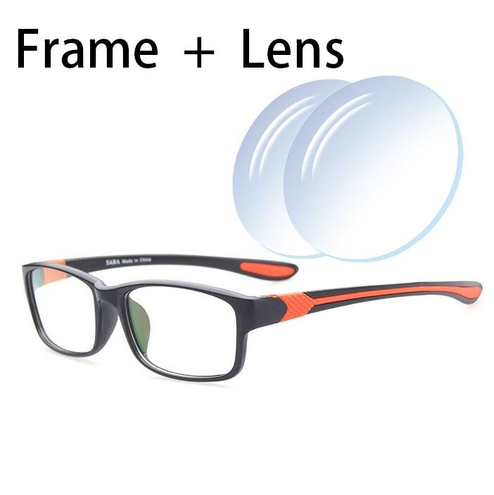 EOOUOOE Glasses Frame Gafas Mujer Square Stylish 1.56 1.61 Index  Prescriptio Lens Eyewear Optical Glasses Oculos de sol Sports