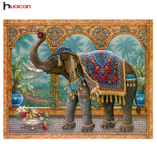 Diamond Embroidery Elephant Full Square Diamond Painting Cross Stitch Animal Pictures Rhinestone Diamond Mosaic Home Decoration недорого