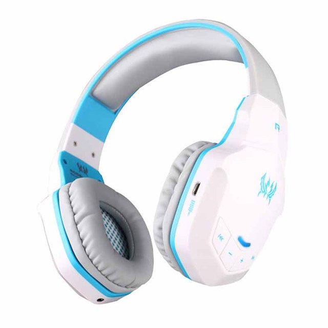 New EACH Wireless Bluetooth Stereo Gaming Headphones Headset HiFi NFC Function With Volume Control Mic For Smart Phones