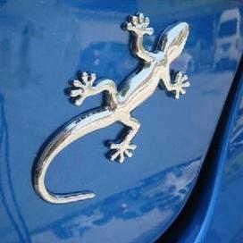 Gecko Lizard Mobil Stiker Motor Stiker Tahan Air Reflektif Stiker Mobil Styling untuk Fokus 3 Cruze Gratis Pengiriman