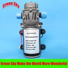 8L/MIN 80W High Pressure high head 24V DC  mini diaphragm pump 12v mini vacuum pump 8l min high pressure suction diaphragm pumps with holder