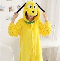 Kış İlkbahar sonbahar fanila pijama bir pijama cosplay kostümler suits yetişkin a goofy karikatür hayvan onesies pijama