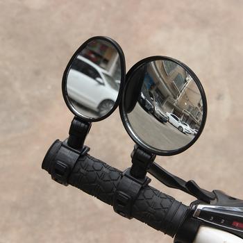 RUTVEING lustro rowerowe uniwersalna kierownica lusterko wsteczne 360 stopni obrót dla rowerów rower mtb akcesoria rowerowe tanie i dobre opinie RUMO1
