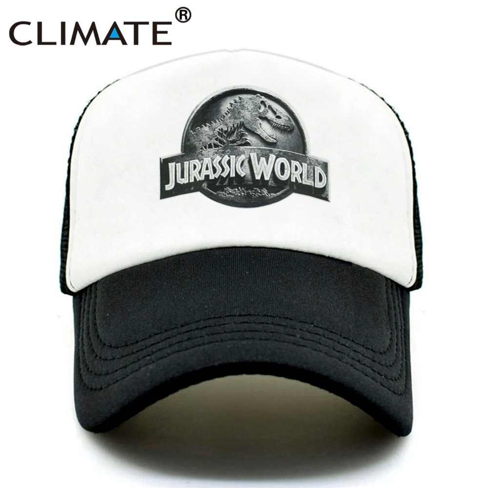 1f70a156954 CLIMATE New Jurassic World Park Cap Hat Women Men Jurassic Park Dinosaur  Caps Hat Cool Summer