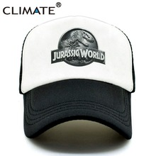 e870da68061 CLIMATE New Jurassic World Park Cap Hat Women Men Jurassic Park Dinosaur Caps  Hat Cool Summer