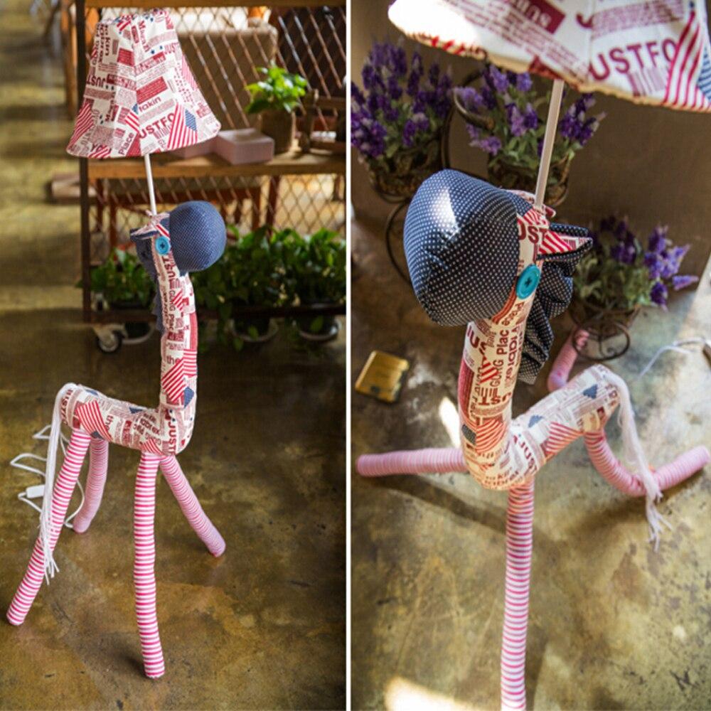 ФОТО High Quality Cute Kids Floor Lamps Led 110V-220V E27 England nordic lamps Floor Lamp Cartoon Decorative Floor Lamp Lighting