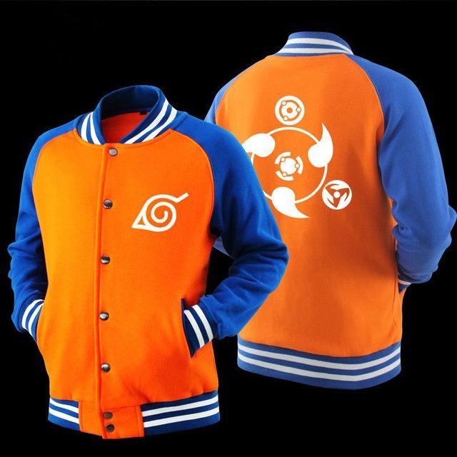Naruto Printed Bomber Jacket