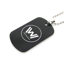 Westworld Necklace | Black Dog Metal Pendant