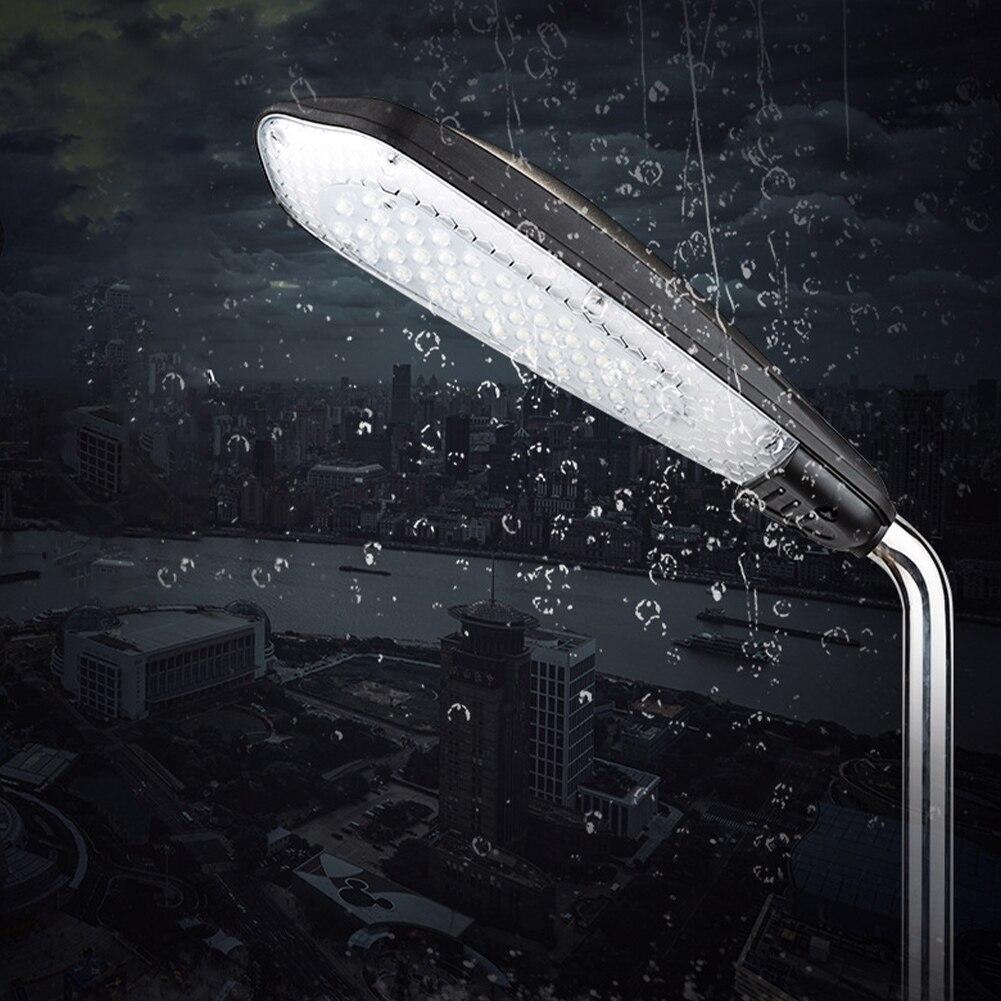 4900LM الغسق إلى الفجر حديقة الأمن مع استشعار للماء Ip65 Led المرآب ضوء الشارع دائم في الهواء الطلق مشرق مصباح التعريفي